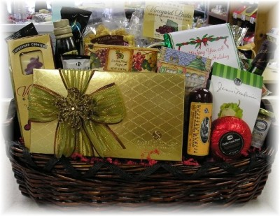 Corp basket unwrapped