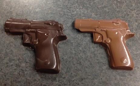 Gun smaller