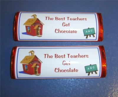 Teacher Wrapped Bars
