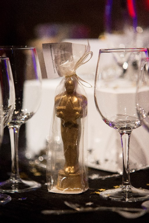 Chocolate Hollywood Oscar Style Award