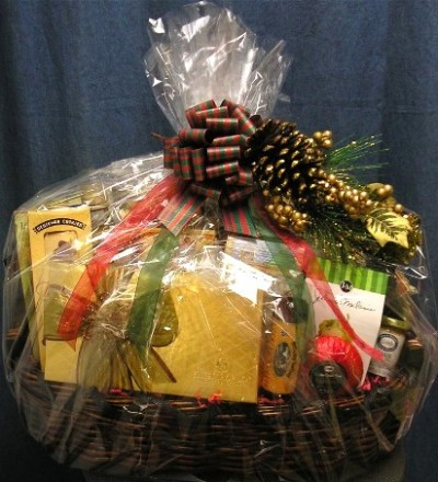 corp basket wrapped