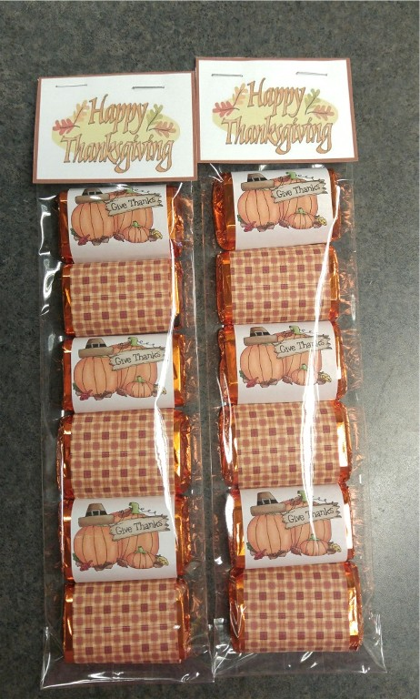 6 pc mini bar thanksgiving set